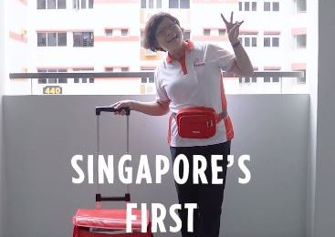 Singapore's First Ever Yakult Lady